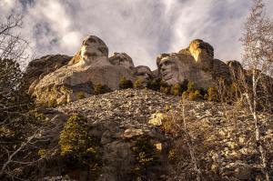 Mount Rushmore National Park in Rapid City, South Dakota.